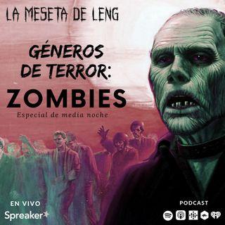 Géneros de terror: Zombies