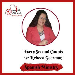 Cada Segundo Cuenta w/ Rebeca Geerman ( Spanish)  -  Cuanto conoces tu hijo o hija?