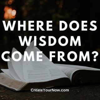 1924 Where Does Wisdom Come From?