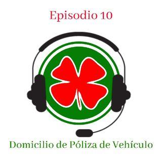 #10 - Domicilio De Una Póliza De Vehículo