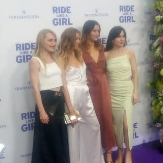 RIDE LIKE A GIRL - Katie Castles & Veronica Thomas Red Carpet Interview