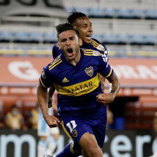 Gol de Boca: Eduardo Salvio 1-0