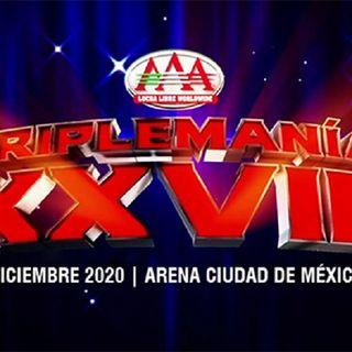 ENTHUSIASTIC REVIEWS #93: AAA TripleMania XXVIII 2020 Watch-Along