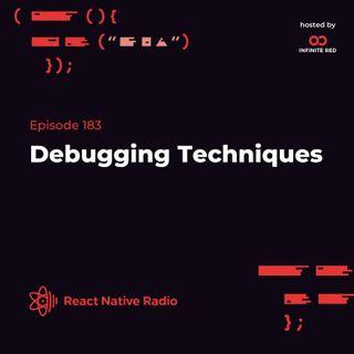 RNR 183 - Debugging Techniques