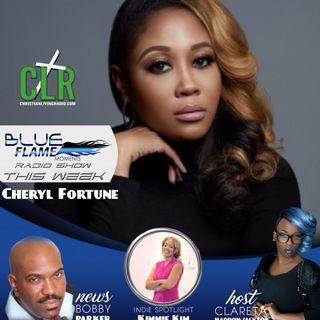 Blue Flame Radio - Cheryl Fortune