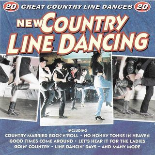 NEW COUNTRY LINE DANCING (CD) 20 songs