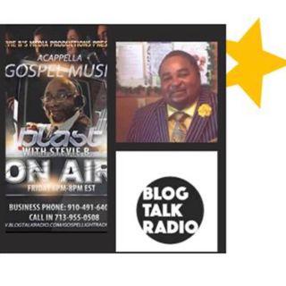 Stevie B. A Cappella Gospel Music Blast - (Episode 185)