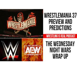 WrestleMania 37 Preview and Predictions; The Wednesday Night Wars Wrap Up KOP040921-602