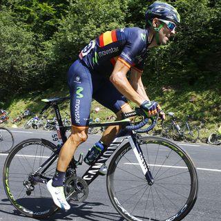Valverde, tras la 14ª etapa del Tour
