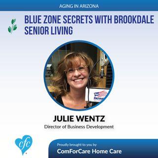 6/18/17: Julie Wentz with Brookdale Senior Living   Blue Zone Secrets with Brookdale Senior Living   Aging In Arizona with Presley Reader