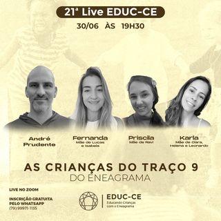 21a Live EDUC-CE: As crianças do traço 9 do eneagrama