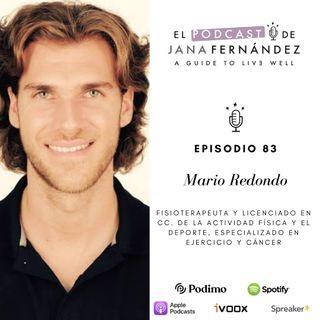 Ejercicio físico como herramienta de prevención y tratamiento del cáncer, con Mario Redondo
