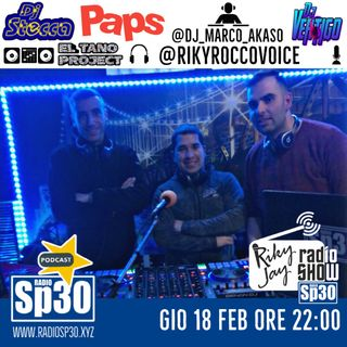RikyJay Radio Show - ST.2 N.61 - Paps, Dj Stecca e Dj Vertigo
