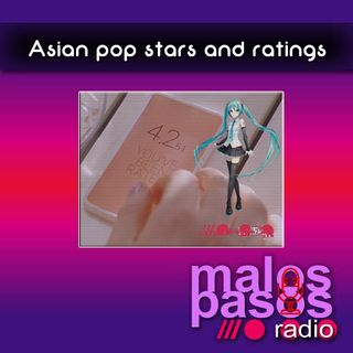 Asian pop stars and ratings
