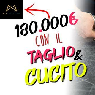 Da Zero a 180.000€ con corsi online di Taglio e Cucito