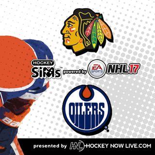 Blackhawks vs Oilers