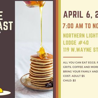 Kidney Foundation of Northwest Ohio Pancake Breakfast & Silent Auction