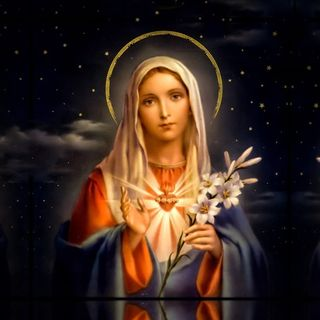 The Blessed Virgin Mary #1