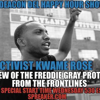 According to Deacon Del Happy Hour Show