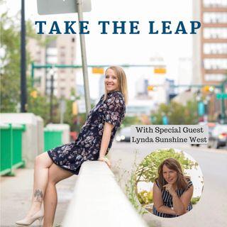 Episode #17 - Lynda Sunshine West Takes The Leap