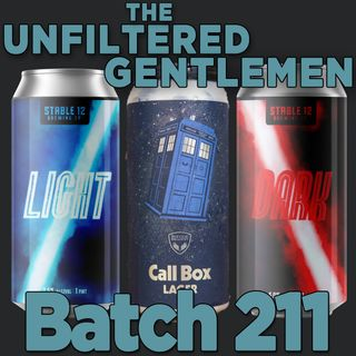 Batch211: Refuge Brewery Call Box Lager, Stable 12 Brewing's Light & Dark & Green Flash West Coast IPA