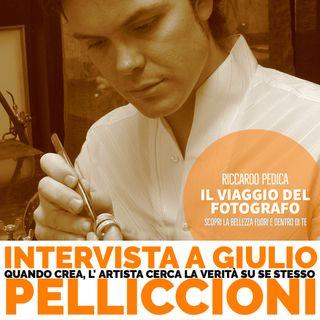 Quando crea, l' artista cerca la verità su se stesso - Intervista a Giulio Pelliccioni