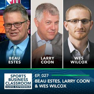 Former GM Wes Wilcox, NBATVs Beau Estes and Salary Cap Expert Larry Coon