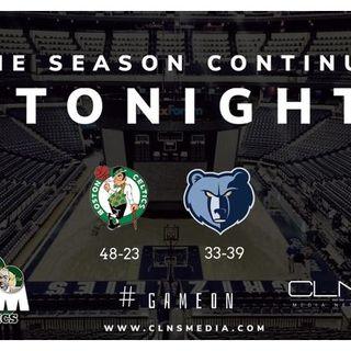 Boston Celtics Simulation @ Grizzlies | Sean Grande | Max | Kendrick Perkins