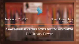 Panel III: The Treaty Power [Archive Collection]
