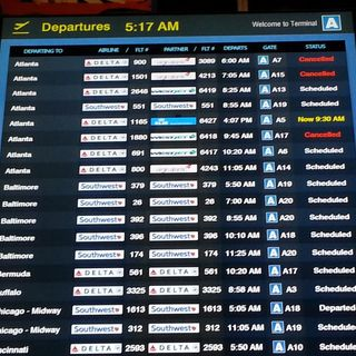 Flights Between Boston, Atlanta Cancelled Due To Outages
