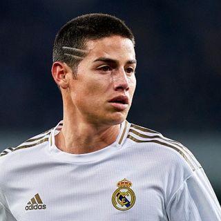 James Rodriguez sería puesto en el mercado por el Real Madrid