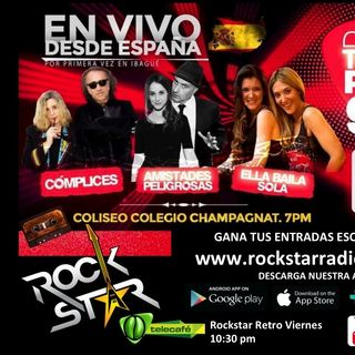PROMO POP TOUR 90S ROCKSTAR RADIO & TV