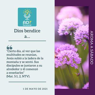 1 de mayo - Dios bendice a… - Devocional de Jóvenes - Etiquetas Para Reflexionar