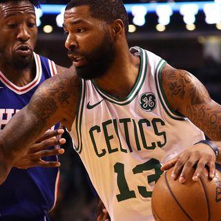 Celtics' Marcus Morris Wants To Sweep Hometown Sixers