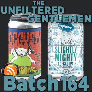 Batch164: Ironfire Brewing Poggy Style & Dogfish Head Slightly Mighty IPA
