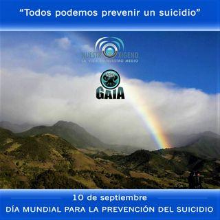 NUESTRO OXÍGENO 10 de sept Dia mundial para la prevención del suicidio