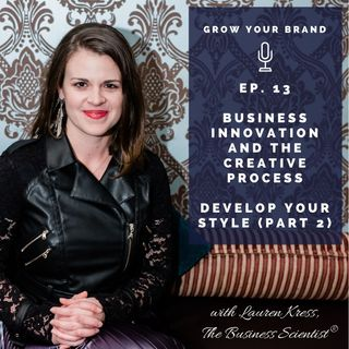 Business Innovation and The Creative Process (Develop Your Style Part 2)
