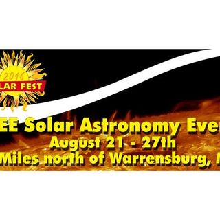 SolarFest 2016 - A week long event dedicated to Solar Astronomy