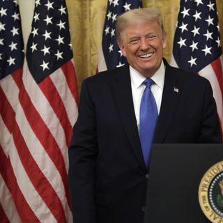 """El presidente Donald Trump pidió el martes a los líderes mundiales en las Naciones Unidas que """"responsabilicen a China"""" por la pandemia de c"""