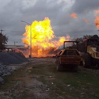 Reportan fuga en gasoducto de Reynosa, Tamaulipas