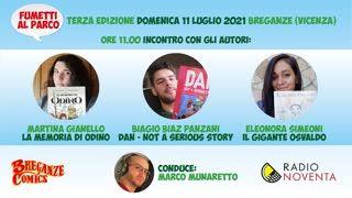 Fumetti al Parco 2021 - Incontro con Martina Gianello, Biagio Biaz Panzani ed Eleonora Simeoni