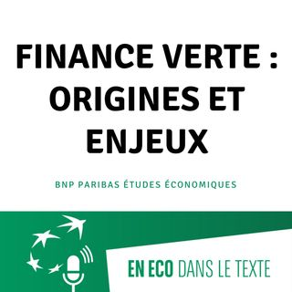 #01 - Finance verte : origines et enjeux
