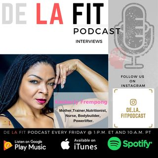 De La Fit season 2 ep 17 Interview with The Bionic Woman Kim