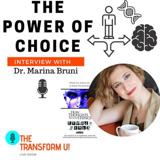 How to activate your brain and tap into your energetic DNA with Dr. Marina Bruni