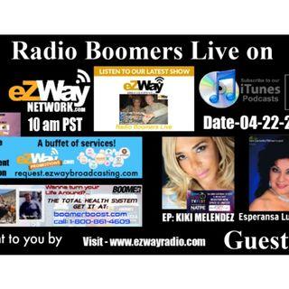 Radio Boomers Live S8 Ep 29 Feat. Kiki Melendez & Esperansa Luna-Melton