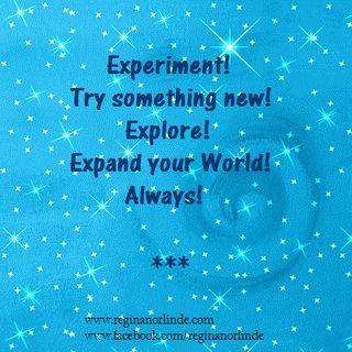 experiment...