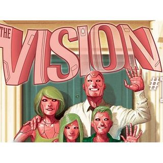 """Source Material #147 - """"The Vision"""" (Marvel) (2016)"""
