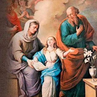 Santos Joaquin y Ana, abuelos de Jesús