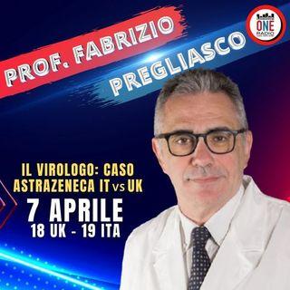 Prof. F. Pregliasco: Caso Astrazeneca Italia vs UK