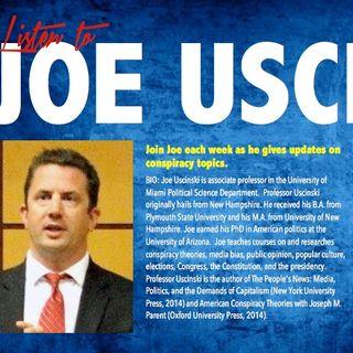 CONSPIRACY COUNTDOWN with Dr. Joe Uscinski june 14-2018